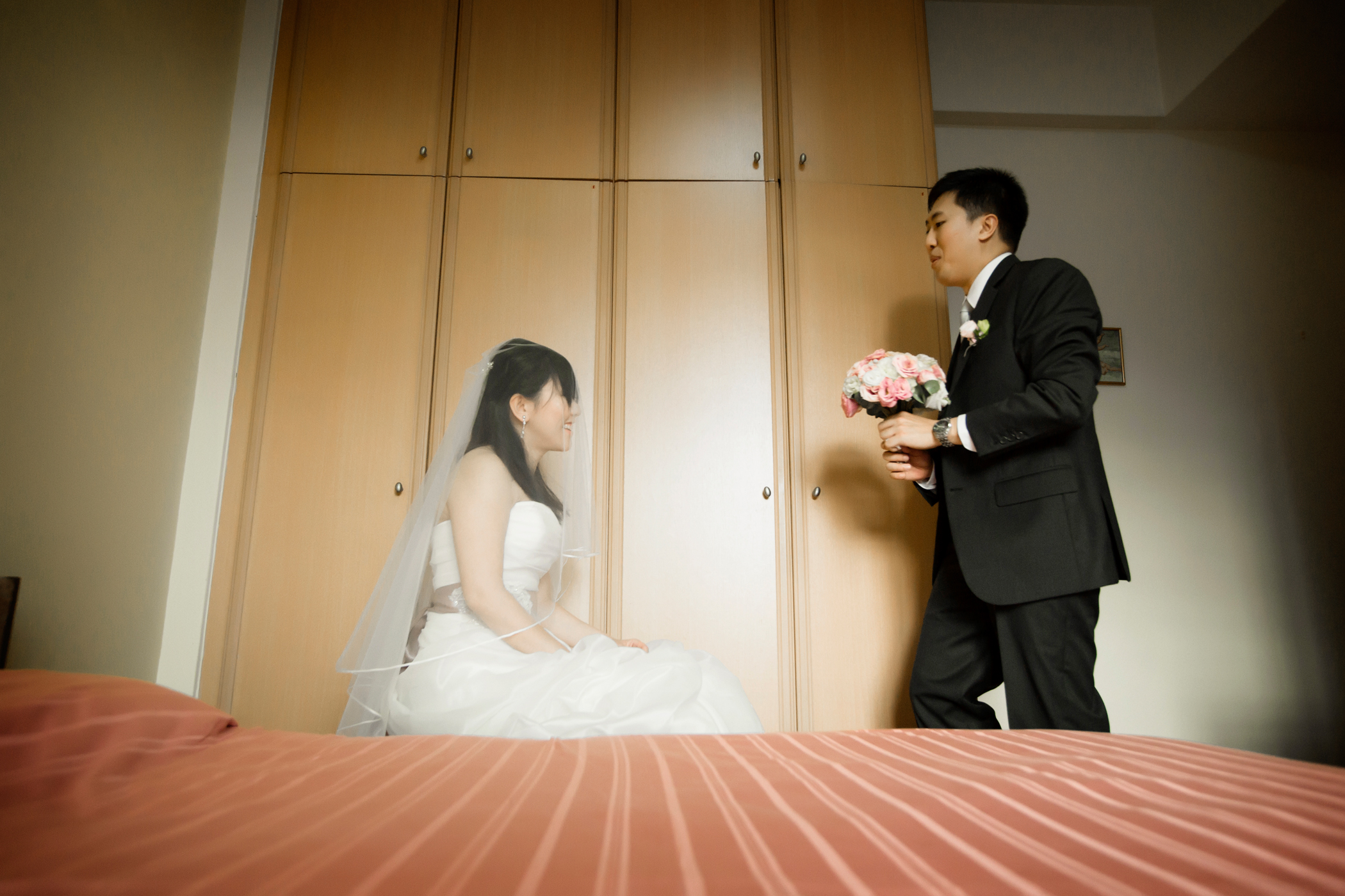 hrbyslides041 6c9c Hao Ren & Bingying   Wedding day slideshow