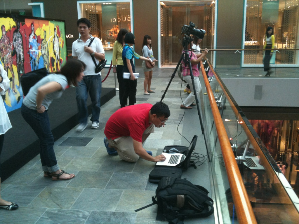 IMG 0630 Marina Bay Sands photoshoot   Sneak peek at our gear